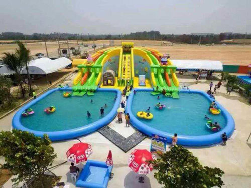 How to extend the use life of inflatable water park