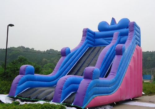 How to distinguish the quality of inflatable slides