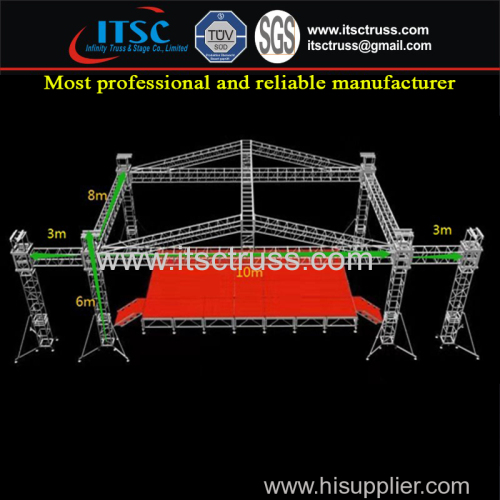 Vaulted Roof Trusses System