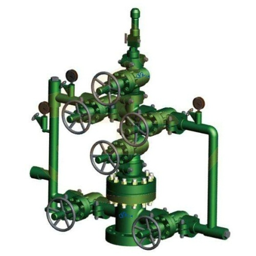 "KZ65 -25 API 6A 2-9/16"" x 5000 PSI Water Injection Wellhead X-Mas Tree"
