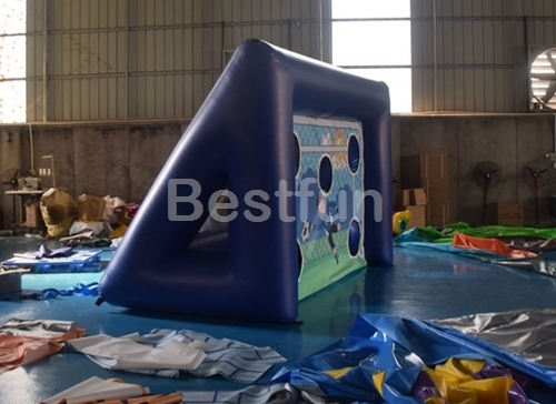 Inflatable sports football games goal posts set