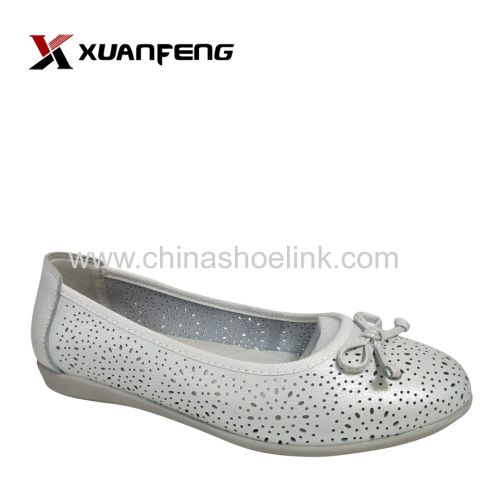 New Fashion Girl's Leather Flat Loafers Shoes