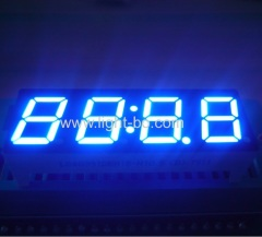 "High bright blue 0.39"" 4 Digit 7 Segment LED Clock display for home appliances"