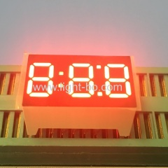 "Super bright red 0.36"" Triple digit 7 segment led display common cathode for home appliances"