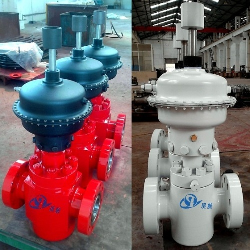API 6A Pneumatic Diaphragm Piston Actuated Surface Safety Valve