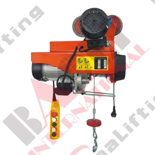 MINI ELECTRIC HOIST WITH MOVING VEHICLE SERIES 05388 05389 05390