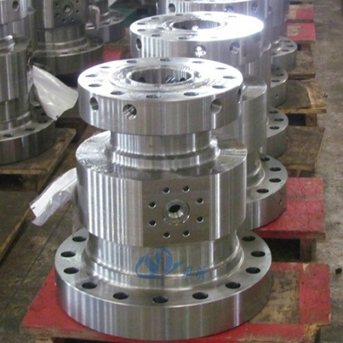 "13-5/8""-5K Flange Bottom x 11""-5K Flange Top Tubing Head Assembly"