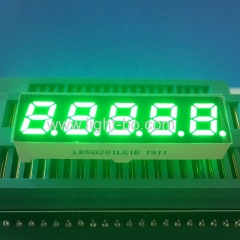 Pure Green 0.28inch 5 Digits 7 Segment LED Display Common cathode for instrument panel