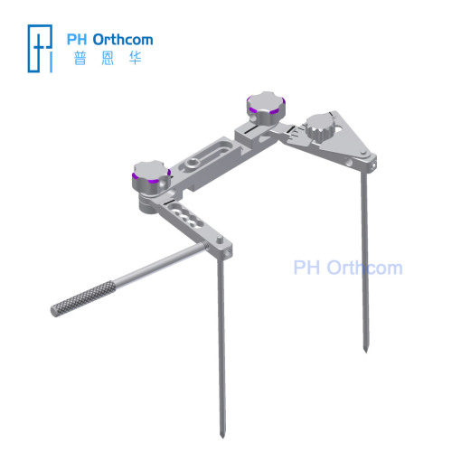 Expandable TPLO JIG for Multi-functional Use Veteterinary Orthopedic Instrument