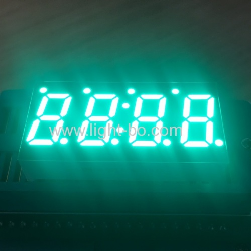 Pure Green 0.49inch 4 Digit 7 Segment LED Display Common cathode for Temperature Controller
