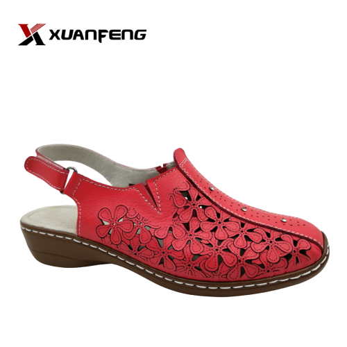 Comfortable High Quality Handmade Summer Women's Action Leather Sandals