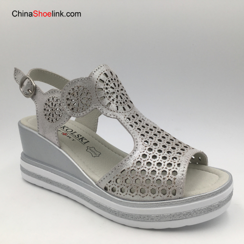 Fashion Wholesale Handmade Women's Flatform Espadrilles