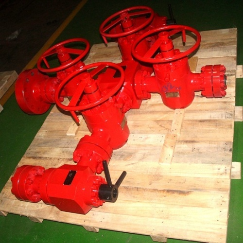 PSL3G Wellhead Assembly and Xmas Tree for Shale Gas Exploration