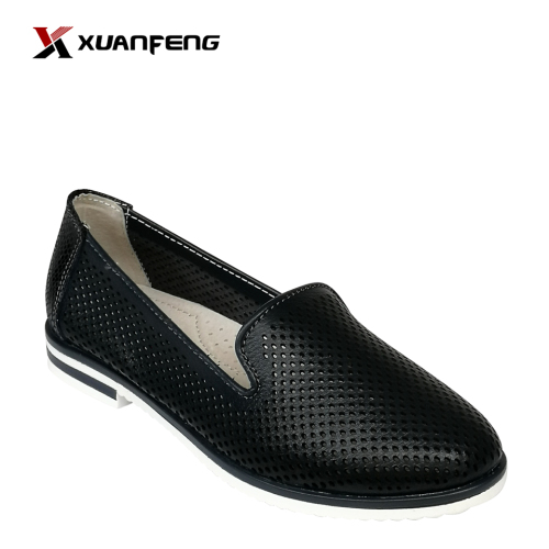 2020 Wholesale Hot Sale Summer Anti-Slip Lady′s Leisure Leather Footwear