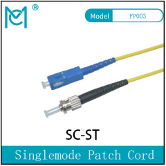 Fiber Optic Single Mode Patch Cord Duplex SC/ST
