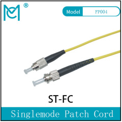 Fiber Optic Single Mode Patch Cord Duplex ST/FC