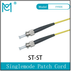 Fiber Optic Single Mode Patch Cord Duplex ST/ST