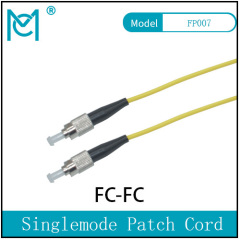 Fiber Optic Single Mode Patch Cord Duplex FC/FC