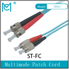 Professional Fiber Optic Singlemode Patch Cord ST /FC