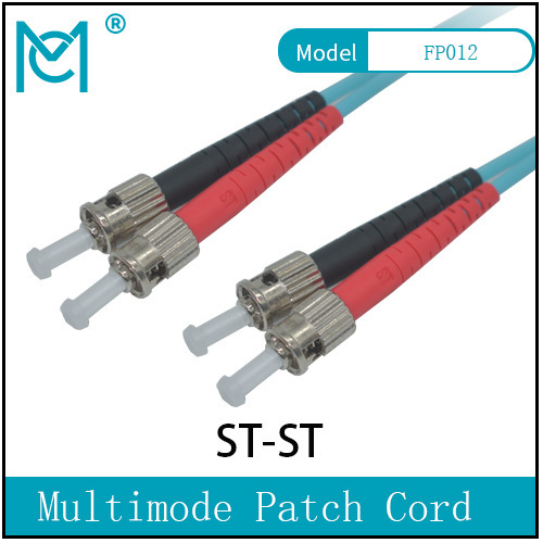 Professional Fiber Optic Singlemode Patch Cord ST /ST