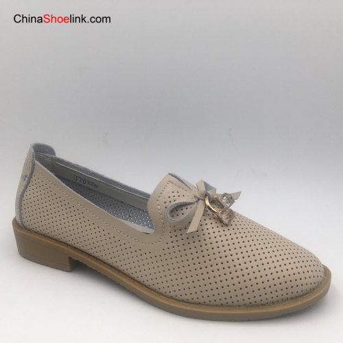 Handmade Shoes Women's Leather Loafers Casual Shoes
