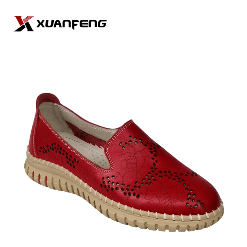 Women's Comfortable High Quality Fashion Leather Leisure Shoes For Ladies
