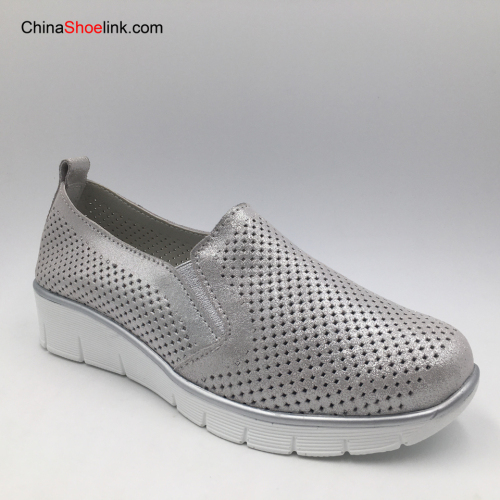 High Quality Women Slip-on Shoes Genuine Leather Women Casual Shoes