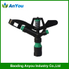 1 Inch plastic sprinkler with 2 nozzle for irrigation