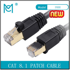 CAT 8.1 S-FTP Patch CordCu PVC AWG 26/7 Length 1-20 m