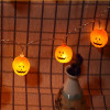 Led Plastic Solar Power Waterproof Pumpkin Hallowmas Night Light