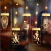 Led Acrylic 3D Decoration Pendant Halloween Icicle Light