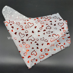 Normal Plain Non-woven Foil Heart