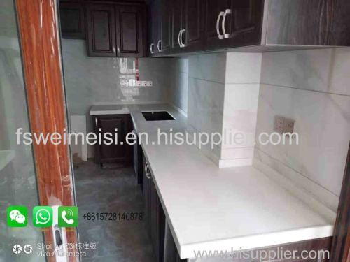 Foshan Weimeisi Kitchen Bathroom Quartz Artificial Marble Quartz Countertop cheap marble countertop artificial quartz