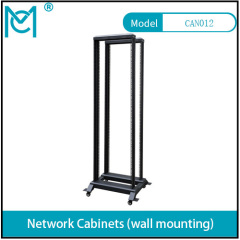 Professional Network Cabinet With permanent Black Static loading 150KG