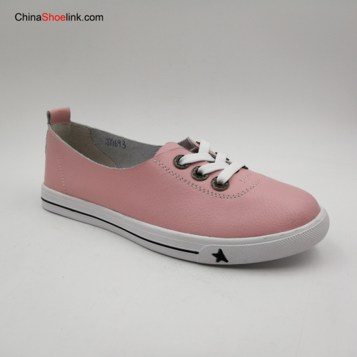 High Quality Handmade Comfortable Women Action Leather Casual Shoes