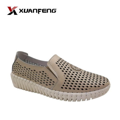Woman Casual Shoes Leather Leisure Shoe