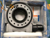 worm drive rotary table slewing bearing for timber grab and loader truck crane