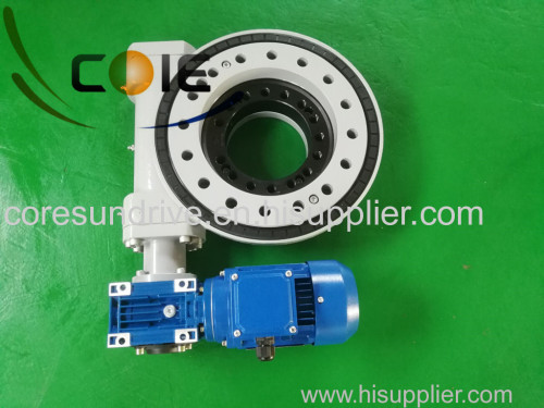 slewing drive worm drive for aerial working platform and mounted truck crane