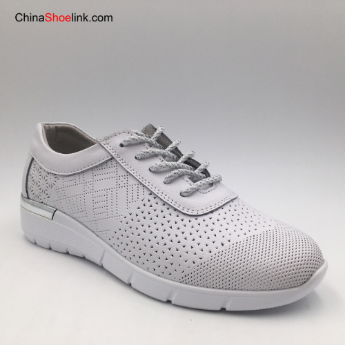 Hot Sale Custom Women Fashion Genuine Leather Comfortable Shoes