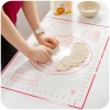 Wholesale Non-stick Silicone Kneading Dough Mat with Measurements