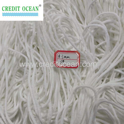 CREDIT OCEAN Hot Sale Elastic White Medical Flat/Round