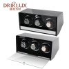 DRIKLUX Luxury Square High Quality Wooden Automatic Triple Watch Winder Box