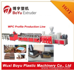 WPC Foam sheet extrusion line