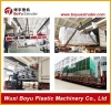 SPC conical twin screw extruder production line