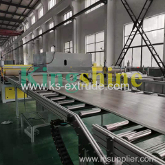 SPC Rigid Core Flooring Production Line Manufacturer