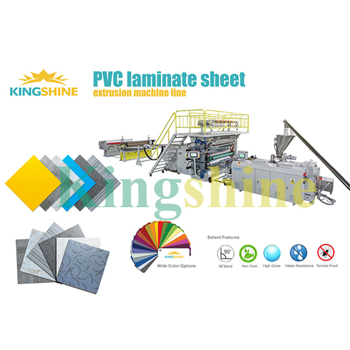 PVC Laminating Sheet Production Machine