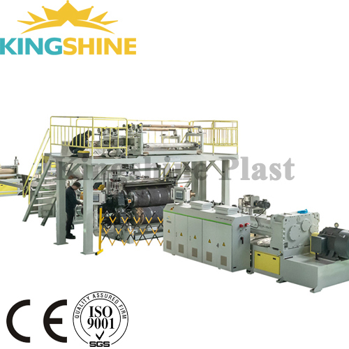 Rigid Vinyl Plank Making Machine / SPC Floor Extrusion Line / RVP Floor Production Line
