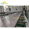 Luxury vinyl plank production line