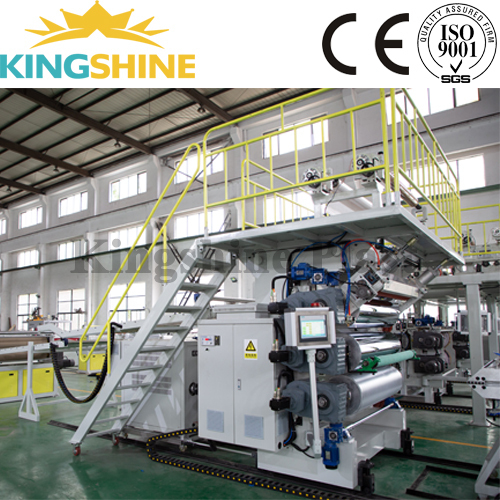 Plastic PVC Artificial Marble Laminate Sheet Extruder Machine For Wall Panel
