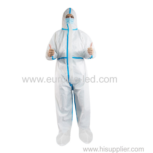Hot Selling Disposable Non-woven Protective Clothing Work Clothes